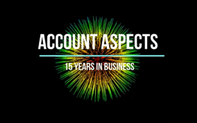 Account Aspects 15 Years in Bookkeeping Business